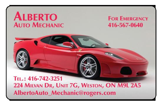 Alberto Auto Mechanic