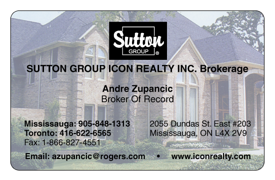 Andre Z., Sutton Group, Mississauga