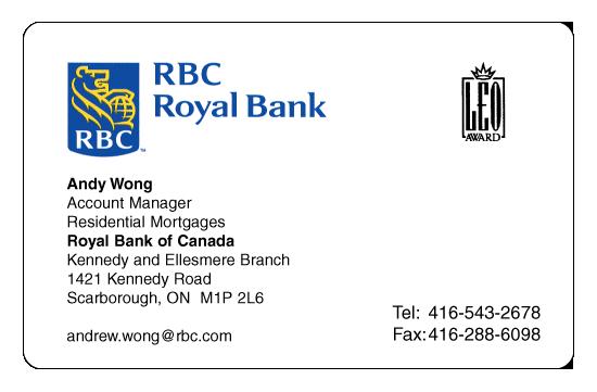 Andy Wong – RBC