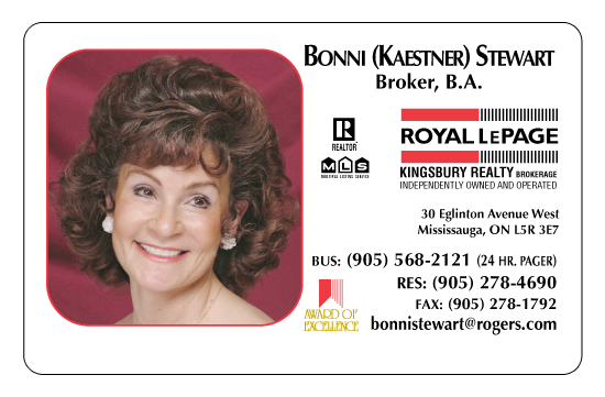 Bonni S., Royal LePage, Mississauga