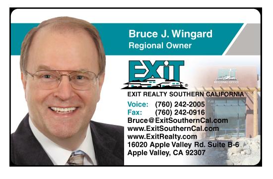 Bruce J. Wingard – Exit