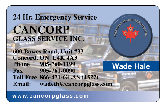Cancorp Glass Services