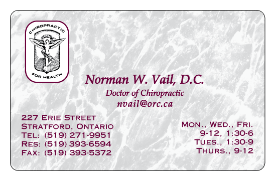 Dr. Norm Vail