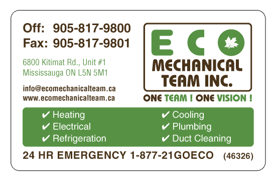 ECO Mechanical Team Inc.