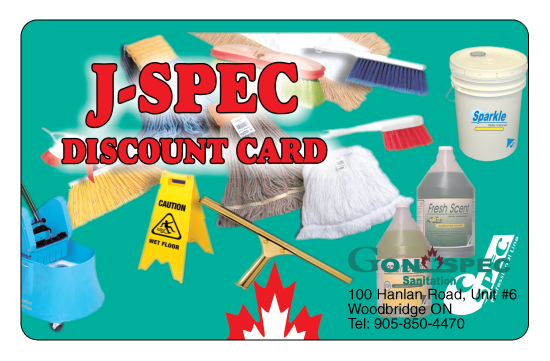 J-SPEC Discount