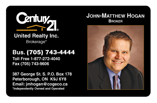 John-Mathew H., Century 21, Peterborough