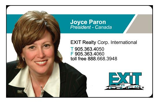 Joyce Paron – Exit