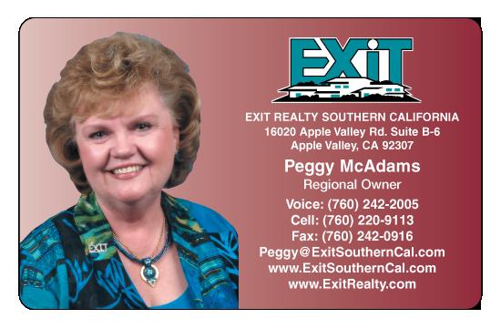 Peggy McAdams – Exit