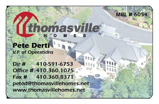 Pete Derti – Thomasville Homes