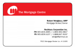Robert Wedgbury – The Mortgage Centre
