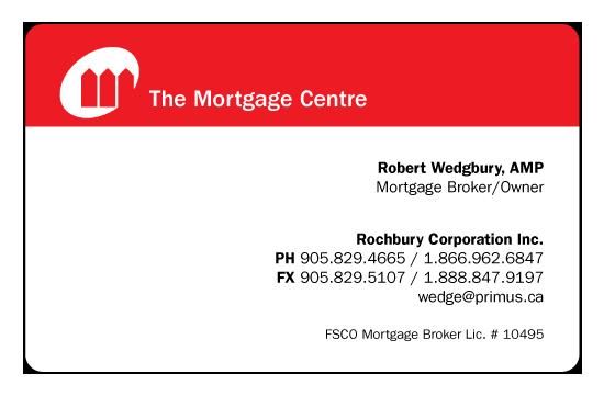 Robert Wedgbury – The Mortgage Centre