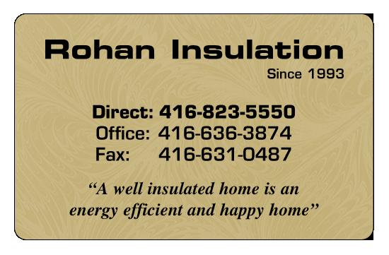 Rohan Insulation