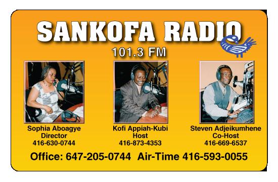 Sankofa Radio 101.3 FM