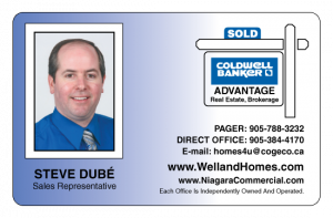 Steve D., Sales Rep, Coldwell Banker, Welland