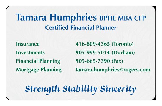 Tamara Humphries