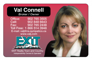 Valerie C., Exit Realty Town and Country, Canex Mall, Greenwood, Nova Scotia