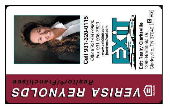 Verisa Reynolds -Exit