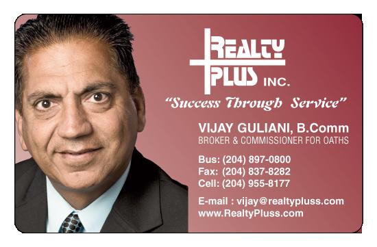 Vijay Guliani – Realty Plus