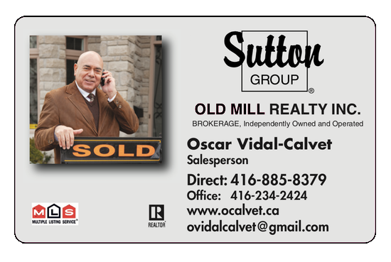 Oscar V.C., Sutton Group, Toronto