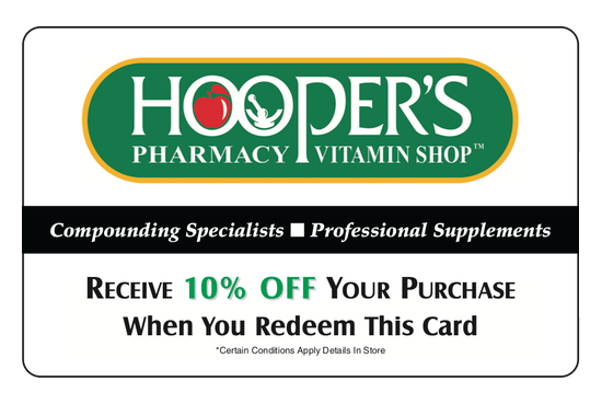 Hooper's Pharmacy Vitamin Shop